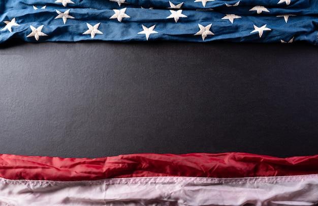 幸せな独立記念日。アメリカの旗、7月4日。