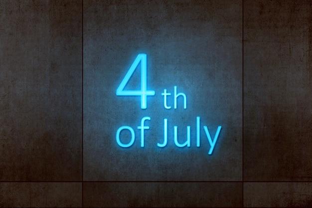 独立記念日の7月4日