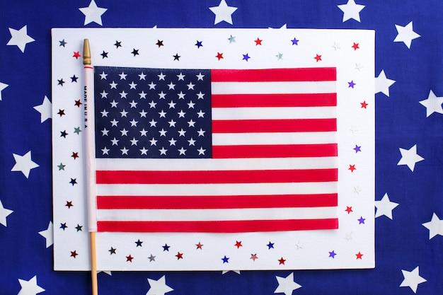 7月4日、独立記念日のコンセプト