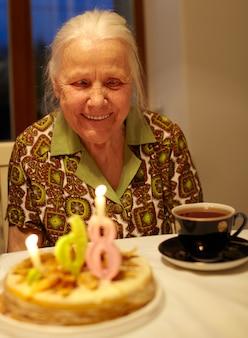 おばあちゃんの86歳の誕生日。