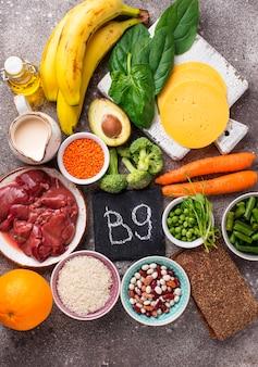 Натуральные источники витамина в9