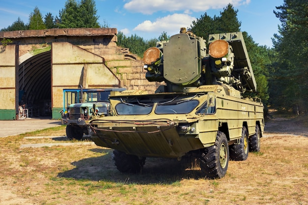 9k33 osa,  tactical surface-to-air missile system
