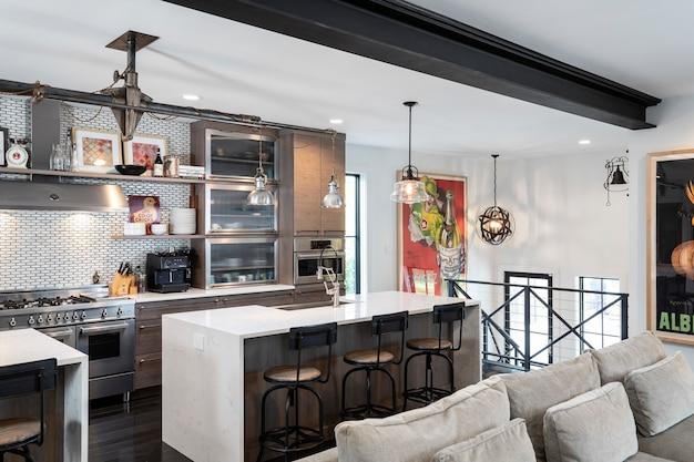 家の中の台所
