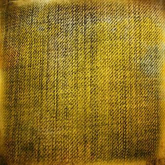 Желтая джинсовая ткань