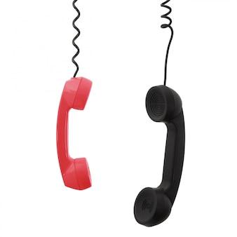 電話の受話器