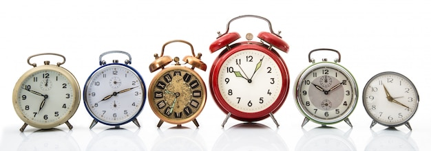 ビンテージ目覚まし時計コレクション