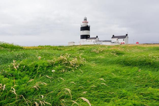 アイルランドの風景フックヘッド灯台