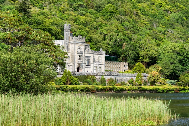 アイルランドの風景カイルモア修道院、ゴールウェイ郡のコネマラ