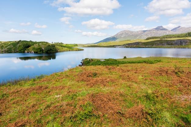 アイルランドの風景。ゴールウェイ郡のコネマラ
