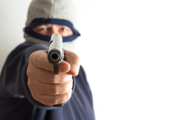 匿名の武装強盗