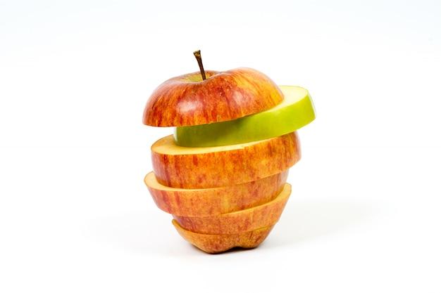 スライスしたリンゴ