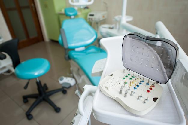 歯科用ミーリングバーの様々なセット