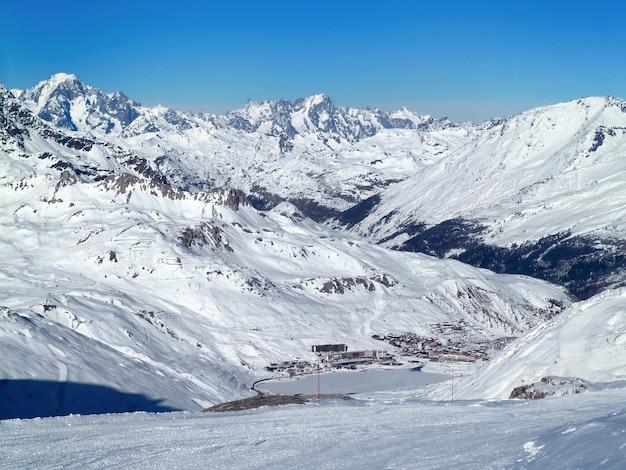 スキー場(ティーニュ、フランス)
