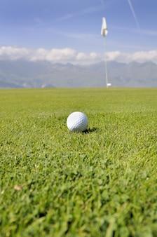 ゴルフの球