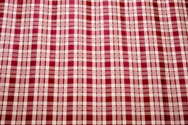 市松模様のピクニックテーブルクロス。シームレスパターン-ビンテージスタイル