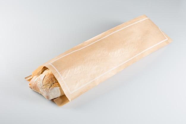 Французский багет из крафт-бумаги