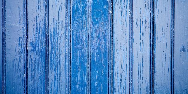Синий цвет старинный пляж деревянный фон старые классические деревянные доски