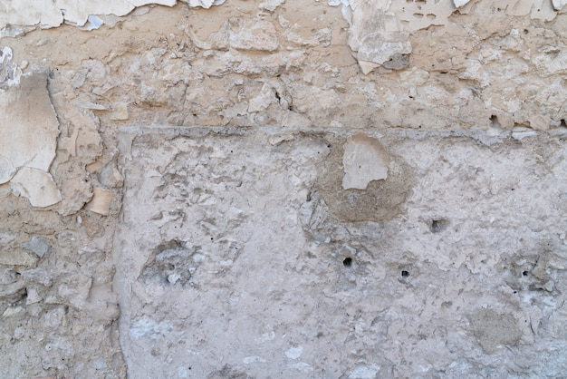 中世の石の壁の詳細
