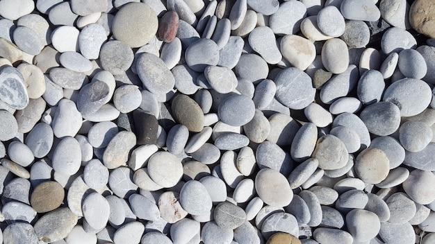 多くの色の海石石畳テクスチャが広がる