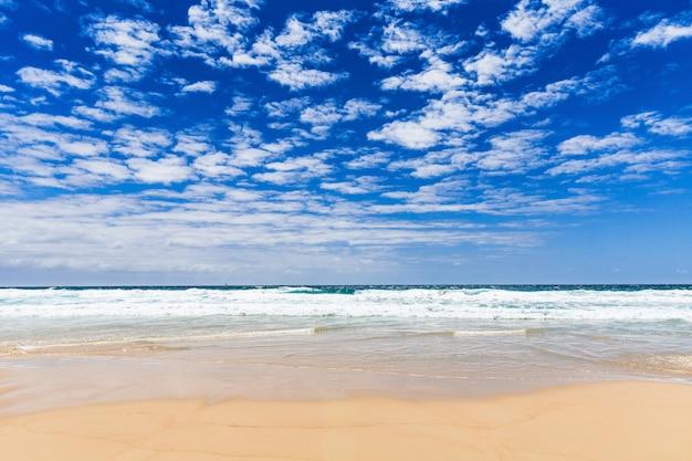 オーストラリア、クイーンズランド州のアレクサンドリアベイヌーサ国立公園の眺め