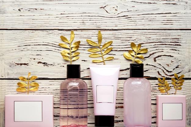 シャワージェル、固形石鹸、入浴剤