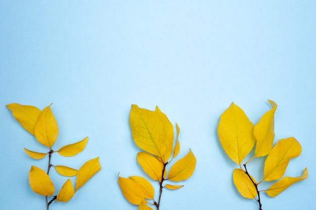 秋の組成、碑文の場所