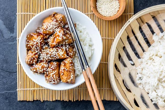 チキン照り焼きご飯