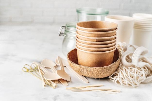 Коллекция эко посуды