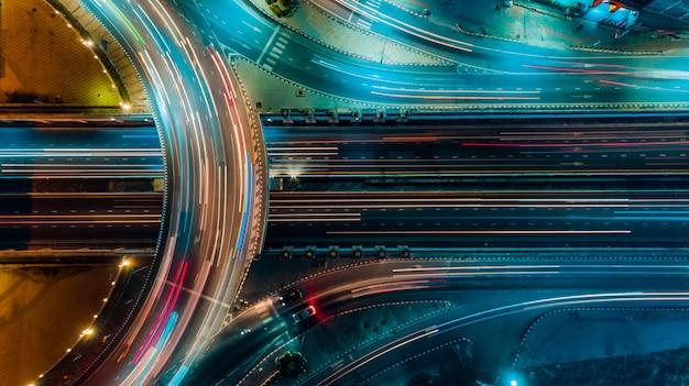 高速道路平面図、道路交通、タイの重要なインフラ