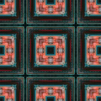抽象的な未来的な道の背景。