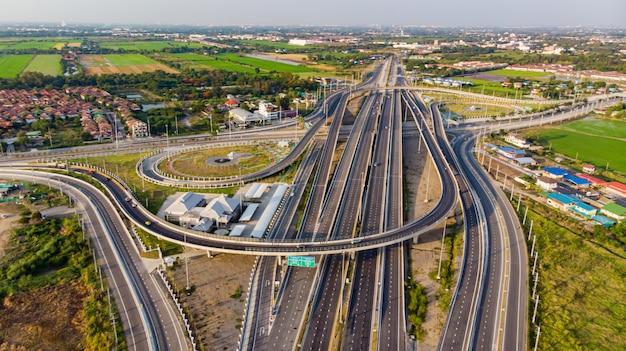 高速道路の平面図、道路交通、重要なインフラ