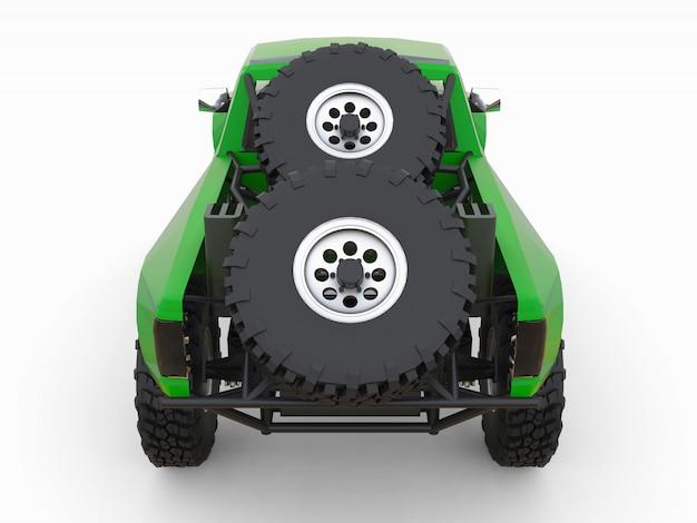 砂漠の地形向けに最も準備されたグリーンスポーツレーストラック