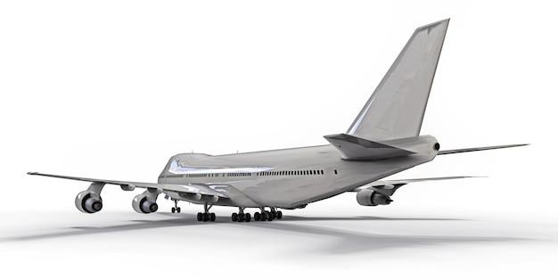 長い大西洋横断飛行のための大容量の大型旅客機