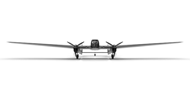 第二次世界大戦の爆撃機の三次元モデル