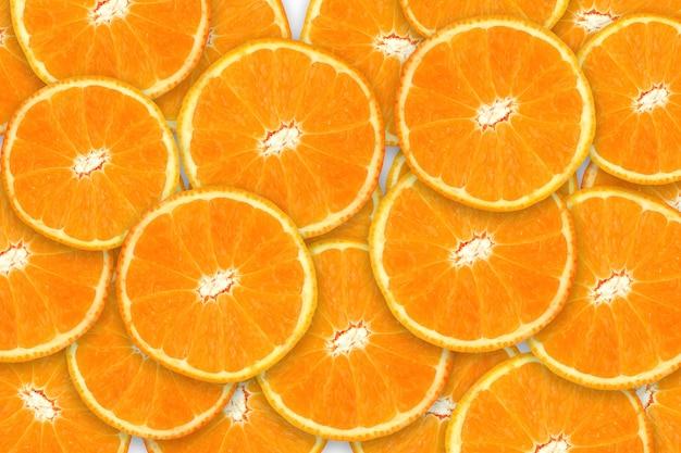 Ломтики апельсина или мандарина.