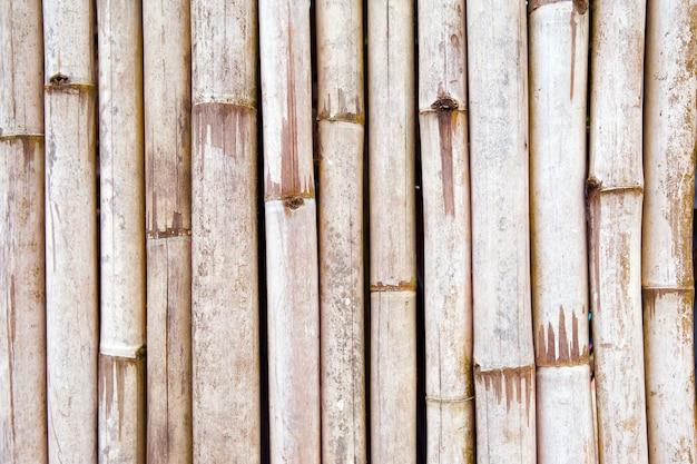 茶色の竹の木の背景。