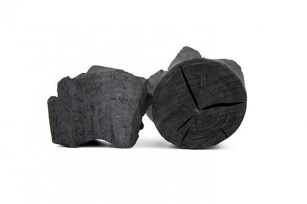 天然木炭。