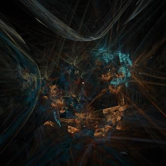 Фон фрактальной хаос