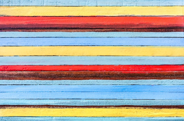 代替建材としての多色の木製の背景