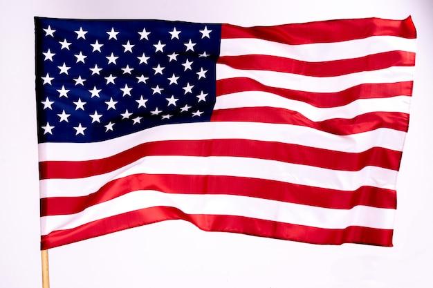 Америка флаг фон на день памяти или день независимости.