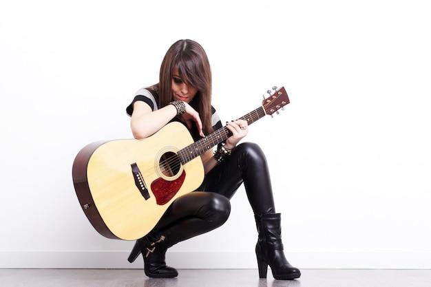 ロックギター奏者