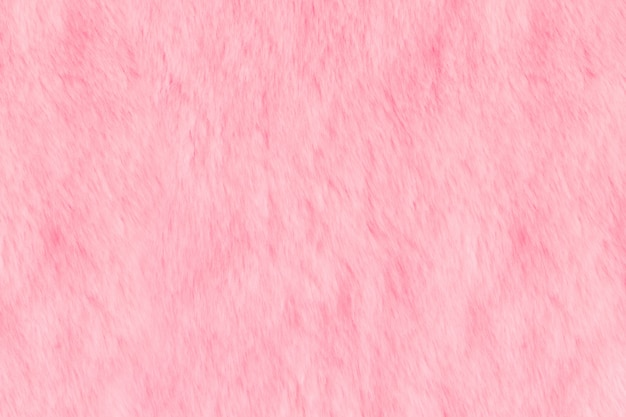 Текстура розового лохматого меха. животная мягкая текстура