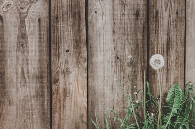 古い木の板テクスチャ背景。ボードビンテージ背景から木の塀。