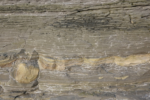 石の表面。自然な灰色の石のテクスチャ