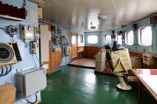 ソビエトの原子砕氷船レーニンの内部。