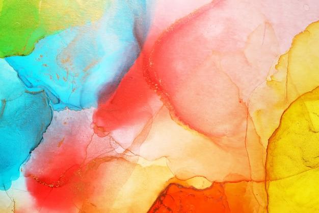 Алкогольные чернила абстрактные текстуры