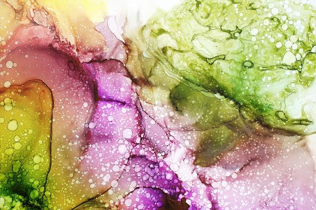 Красочная алкогольная краска