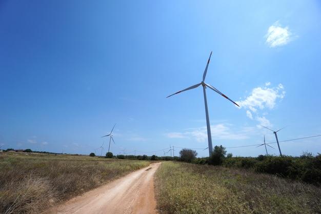 電力生産のための新しい風力発電所