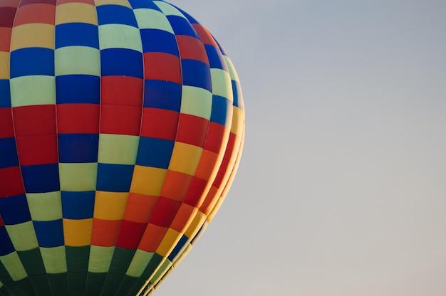 気球の一部