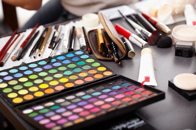 化粧品のコレクション